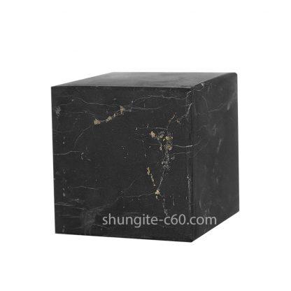shungite stone cube unpolished surface