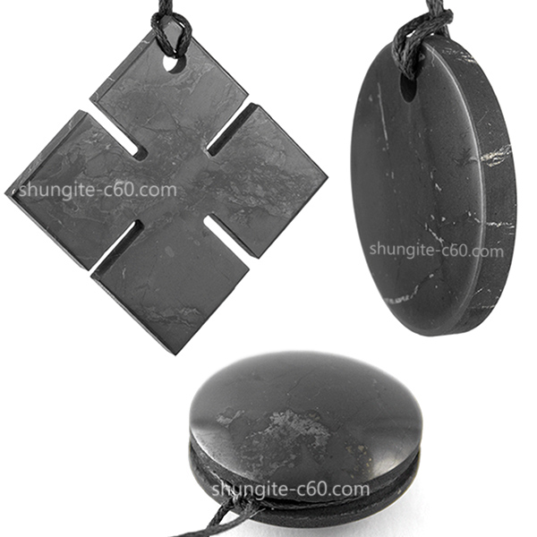 Natural black rare stone