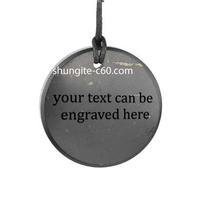 shungite customized pendants