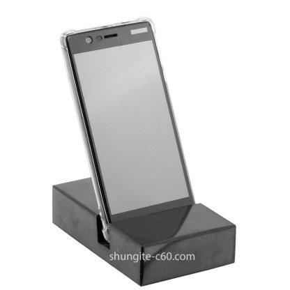 shungite base for cell phone