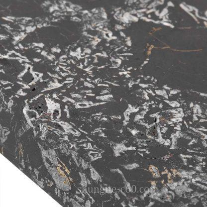 shungite stone surface enlarged image