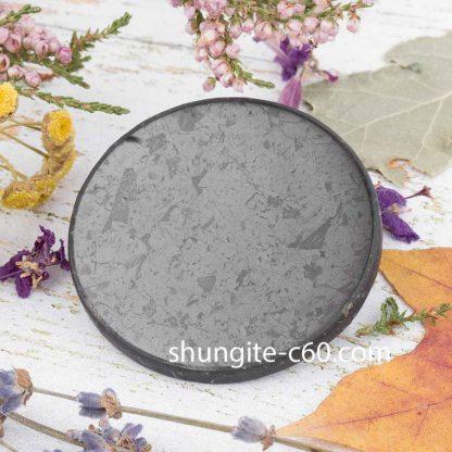 shungite round disk