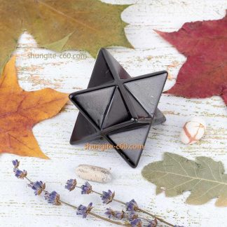 merkaba made of shungite