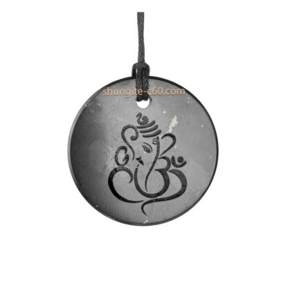 shungite chakra necklace for yoga