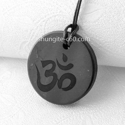 om necklace of shungite