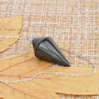 Shungite Pendulum for Dowsing