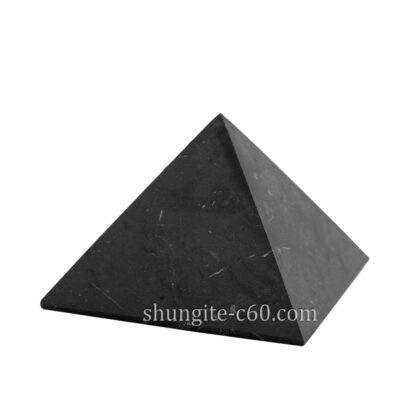 shungite set emf protection pyramid