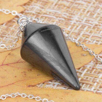 Shungite Pendulum for grounding