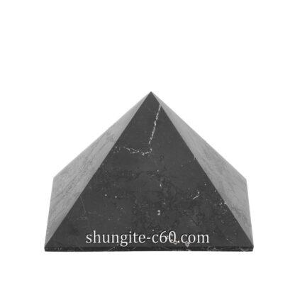shungite pyramid unpolished
