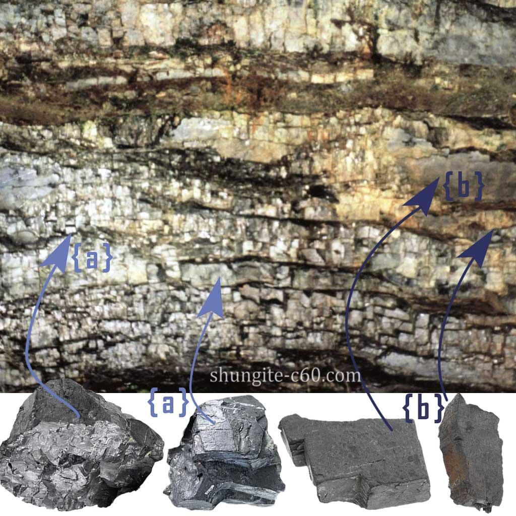 shungite rock type II karelia shunga