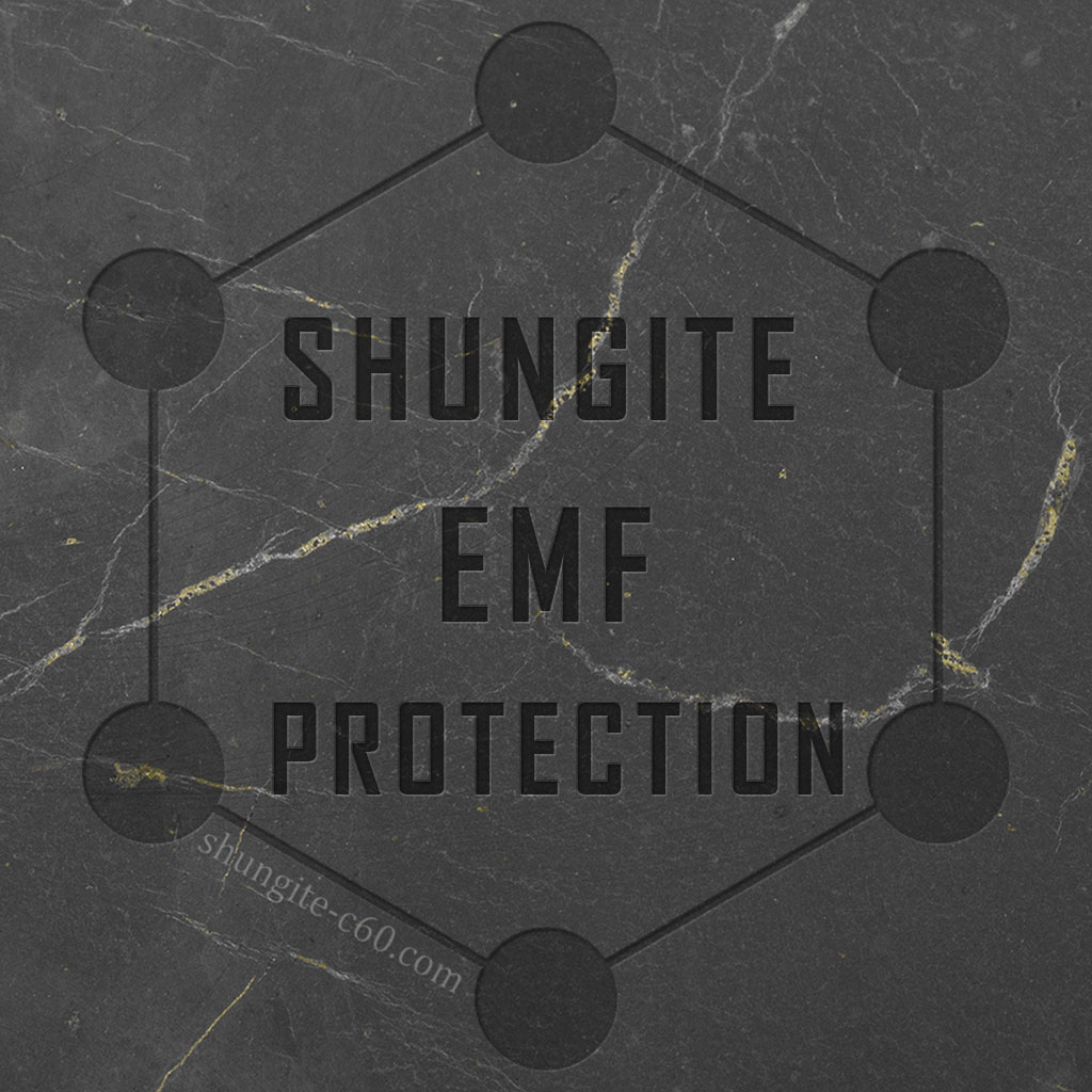 natural shungite emf protection study and proof