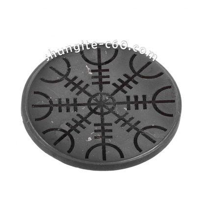 shungite 5g protection circle Helm of Awe 5-7 cm