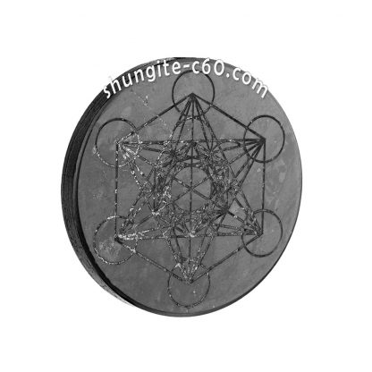 shungite 5g protection metatron cube