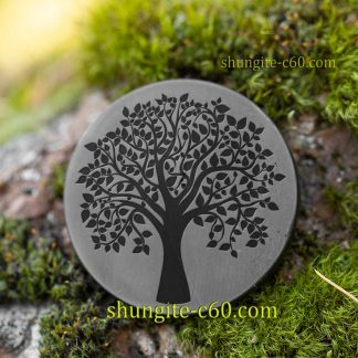 shungite emf circle tree of life