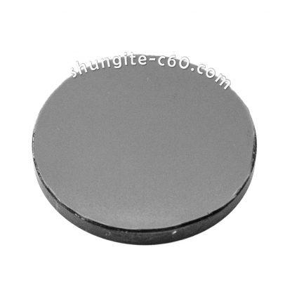 shungite emf circle on a magnet