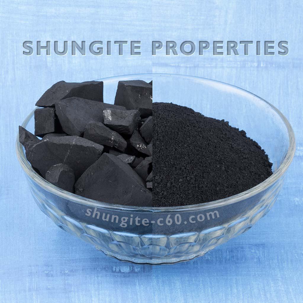 full list shungite properties