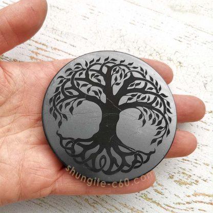 shungite circle for emf diameter 7 cm
