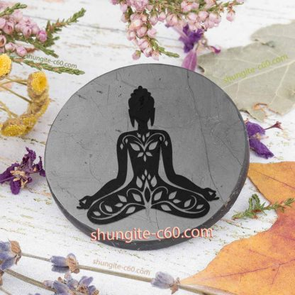 shungite 5g protection plate Buddha Contemplation