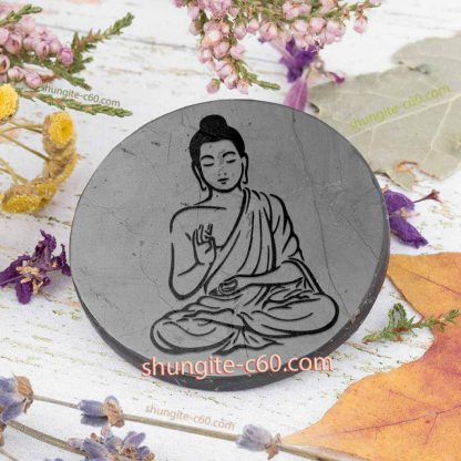 shungite 5g protection plate Buddha Elevation