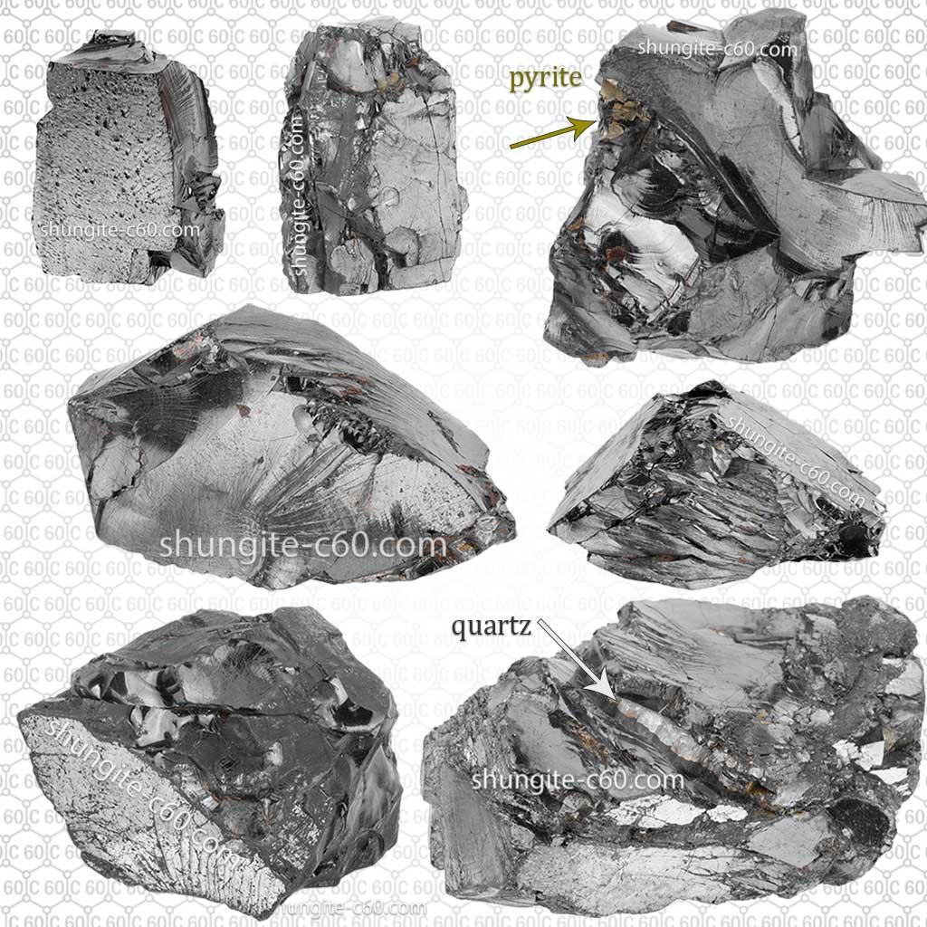 higher anthraxolites or elite shungite stones