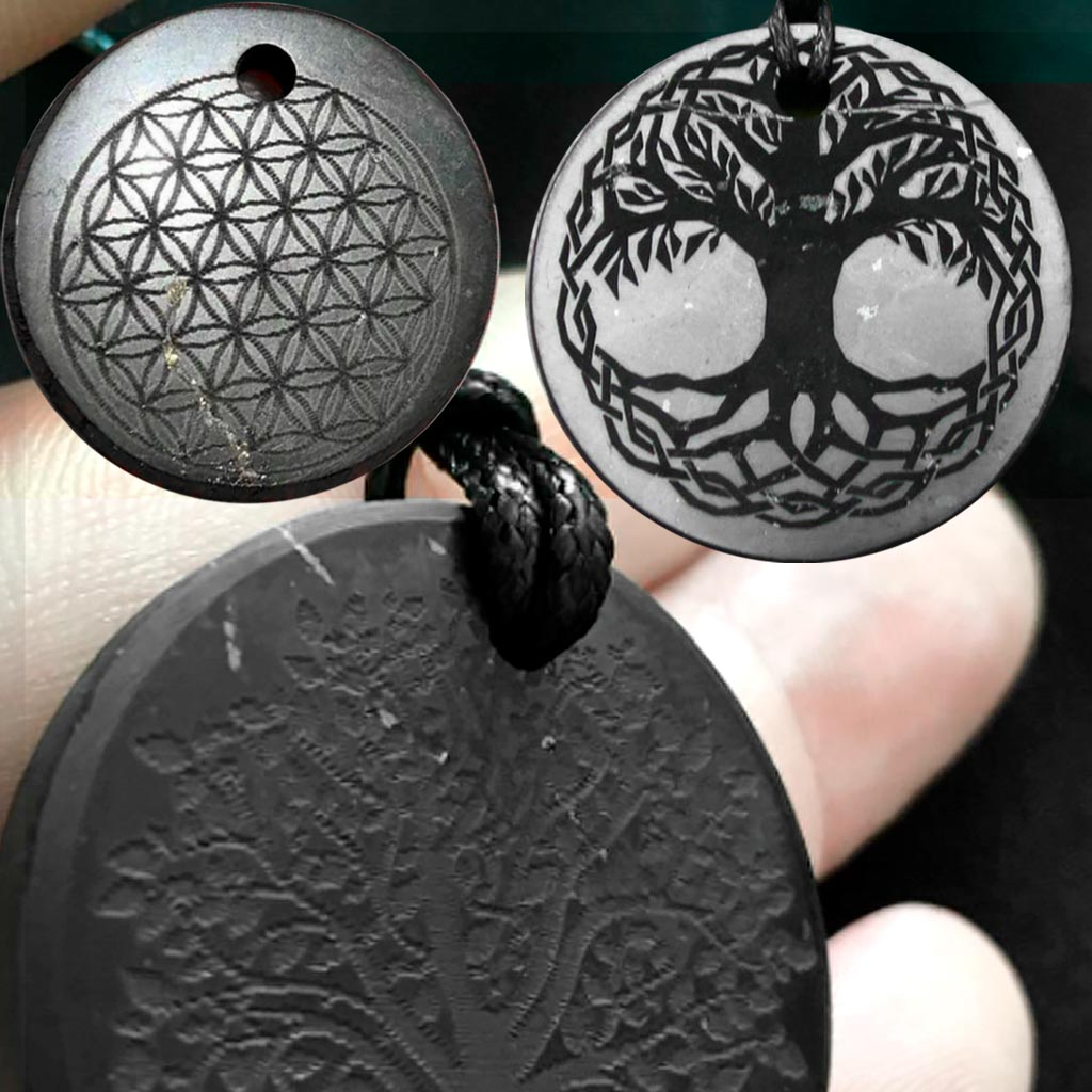 Poor quality engraving on pendants