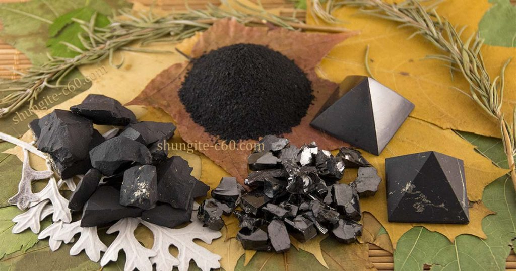 shungite properties of stones and products made from this rare stone