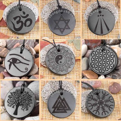 shungite pendants set catalog
