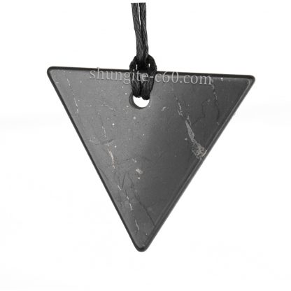 women's shungite pendant from karelia