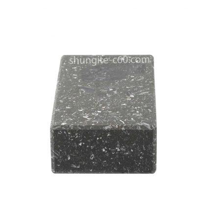shungite large tile rectangular unpolished