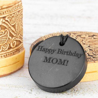 shungite custom necklace for mom