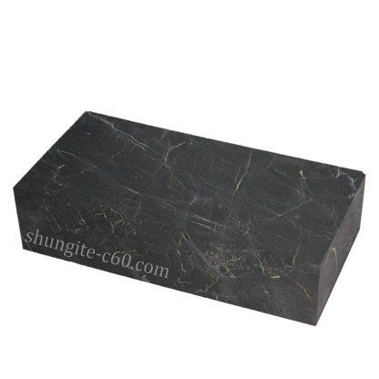 shungite block raw stone from karelia