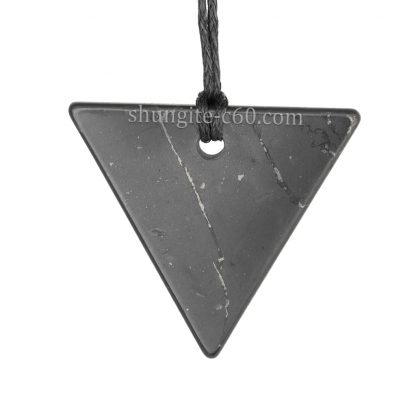 women's shungite pendant