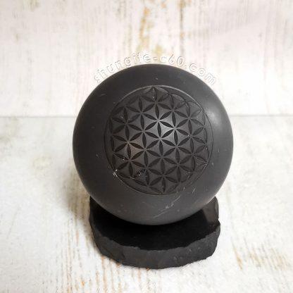 big EMF protection flower sphere diameter of 7 cm