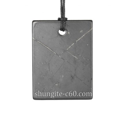 shungite pendant rectangle wholesale