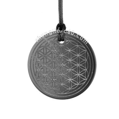 flower of life emf protection pendant