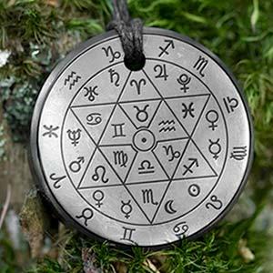 Shungite zodiac necklaces