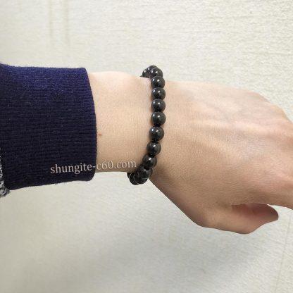 genuine shungite bracelet 8 mm