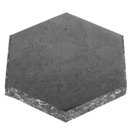 shungite stand hexagon