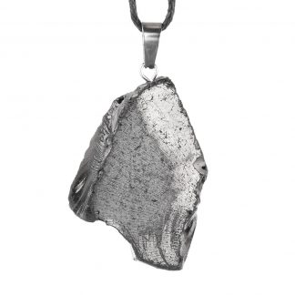 natural elite shungite necklace stone from Russia