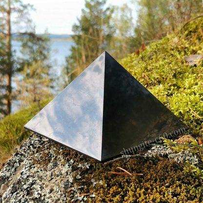 big shungite pyramid