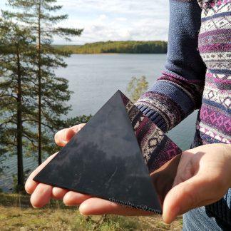 big shungite pyramid for emf protection