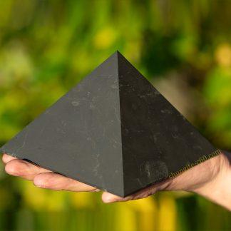 large shungite pyramid
