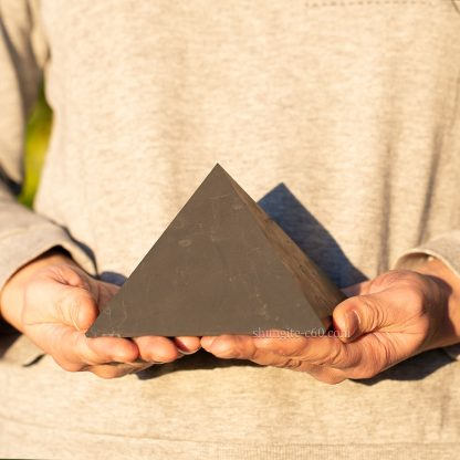 large shungite pyramid from Russia