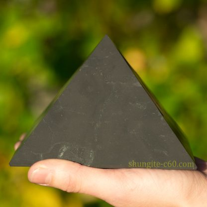 shungite pyramid 120 mm