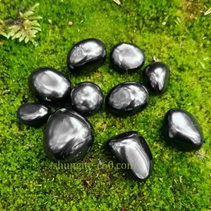 shungite smooth stones from russia