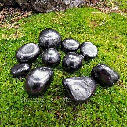 shungite smooth stone